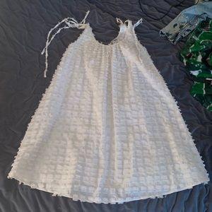 Madewell cream dress